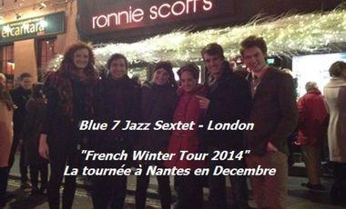 Visuel du projet Blue7Jazz French Summer Tour et CD