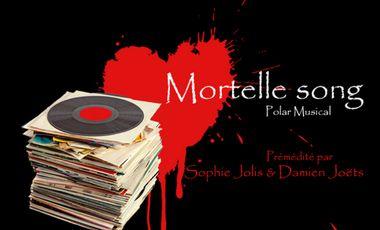 """Visueel van project Participez à l'enregistrement du CD et au clip de la Comédie Musicale """"Mortelle Song"""""""