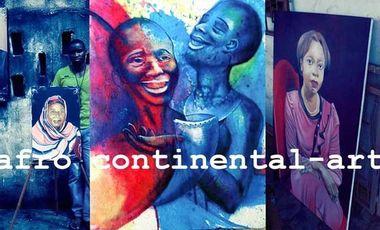 Visueel van project afro continental-art