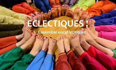 Visueel van project Eclectiques... le CD !