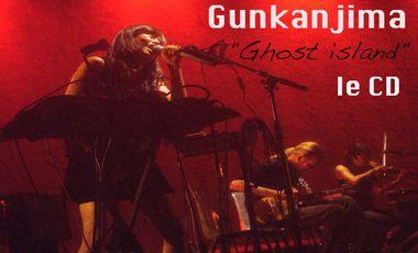 "Visueel van project Soutenez GUNKANJIMA, pour la sortie du  cd  : ""Ghost Island"""
