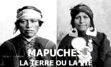 Visueel van project Mapuches, la terre ou la vie