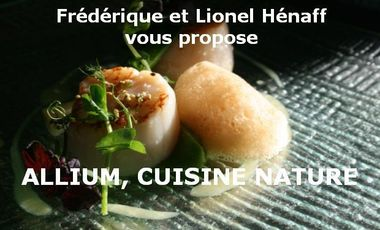 Visuel du projet Restaurant L'ALLIUM, Cuisine Nature