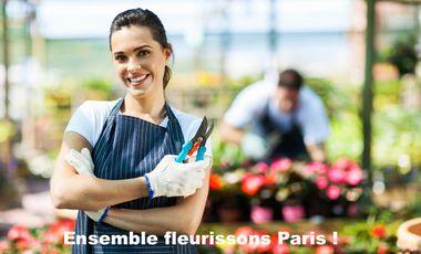 Visueel van project Ensemble, fleurissons Paris !