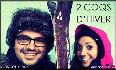 Visuel du projet 4L Trophy 2015 by 2 Coqs d'Hiver