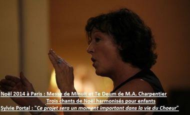 Visuel du projet Noël 2014 à Paris : Messe de Minuit et Te Deum de M. A. Charpentier