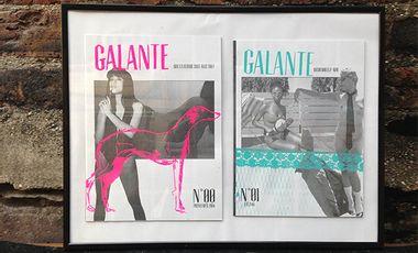 Visueel van project Galante, un fanzine érotico-féministe