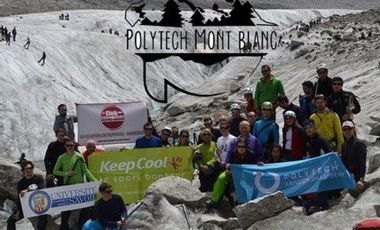 Visueel van project Polytech' Mont Blanc 2014