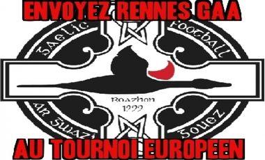 Visueel van project Envoyez Rennes Gaa au tournoi Européen de football gaélique à Maastricht le 18 octobre