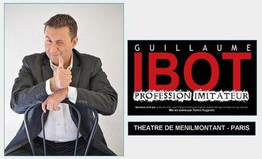"""Visueel van project Guillaume Ibot """"Profession Imitateur"""" à Paris"""