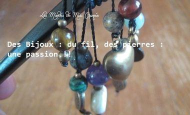 Visueel van project Des bijoux, du fil et des pierres : une passion !!