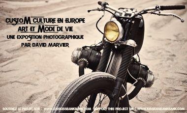 Visueel van project Custom culture en Europe, une exposition photographique par David Marvier