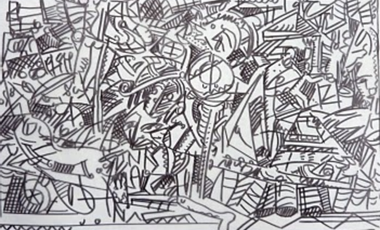 "Project visual ""Paradis Perdu"":tapisseries 2"