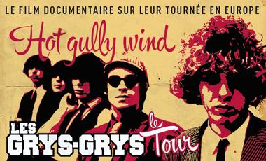 Visueel van project Hot Gully Wind - Les Grys-Grys à travers l'Europe
