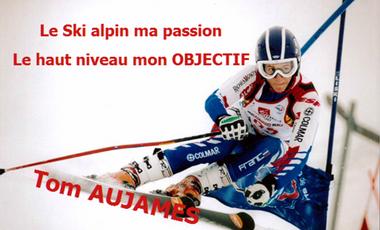 Visueel van project Le Ski Alpin ma Passion ... Le Haut Niveau mon Objectif