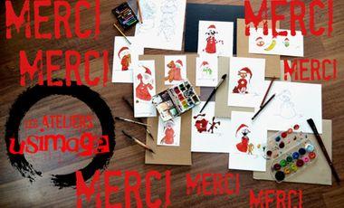 Visueel van project Les Ateliers Usimage: des cartes pour des livres