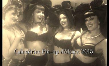 Visuel du projet CALENDRIER PIN-UP D'ALSACE 2015