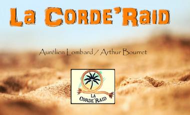 Visuel du projet La Corde'Raid - 4L Trophy 2016