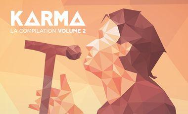 Visueel van project Compilation vinyle Karma #2