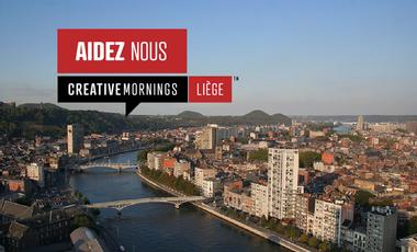 Visueel van project Creative Mornings / Liège