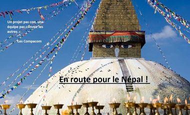 Visueel van project En route pour le Népal