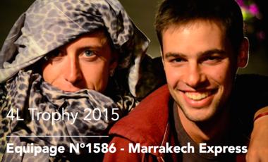 Visueel van project Team Marrakech Express 1586 - 4L Trophy 2015