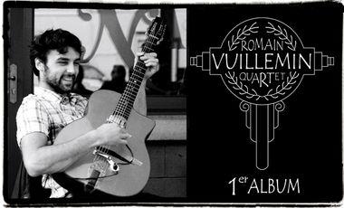 Visueel van project Romain Vuillemin Quartet 1er Album