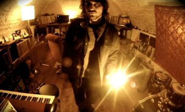 """Visuel du projet OVERHEAD """" Death by Monkeys """" 3ème album"""