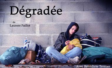 """Visueel van project """"Dégradée"""""""