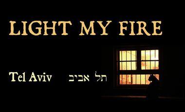Project visual Light my Fire, Tel Aviv