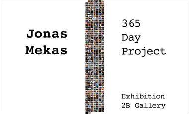 Visuel du projet 365 Day Project, solo show of Jonas Mekas