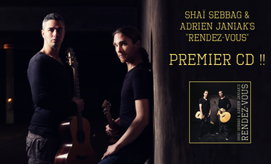 Visuel du projet Shai et Adrien premier CD