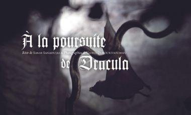 Project visual À la poursuite de Dracula