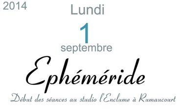 Visueel van project Ephéméride, le troisième album de Françoise Hautfenne