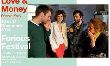 Visueel van project Love and money au Furious festival