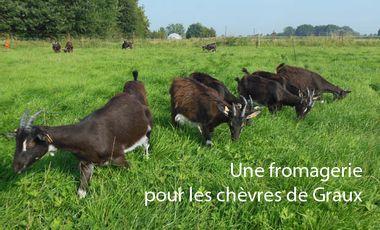 Project visual Une fromagerie pour les chèvres de Graux