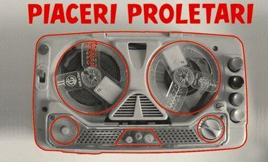 Visueel van project Piaceri Proletari - il disco