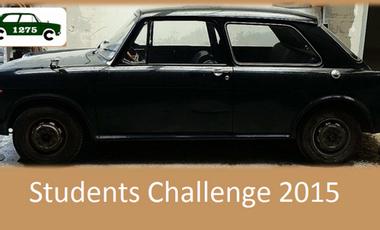 Visueel van project Students Challenge 2015 1275CC