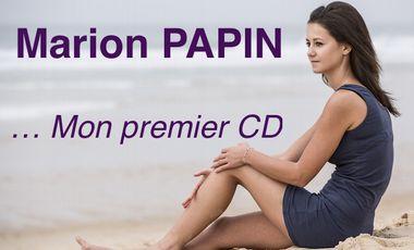 Visuel du projet Marion Papin, mon premier CD