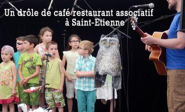 Visuel du projet Un drôle de café restaurant associatif à Saint-Etienne