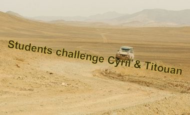 Visueel van project Students Challenge Cyril et Titouan