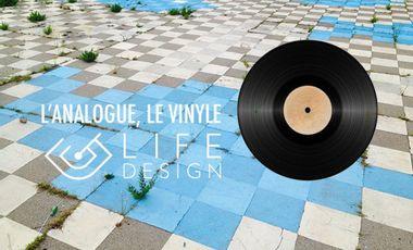 Project visual L'analogue, le vinyle par Life-Design