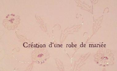 Visueel van project Création de robe de mariée
