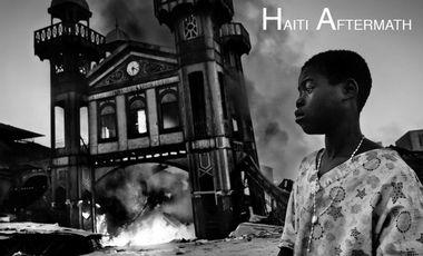 Visueel van project HAITI AFTERMATH