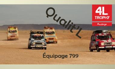 Visueel van project QUALIT'L 4L TROPHY