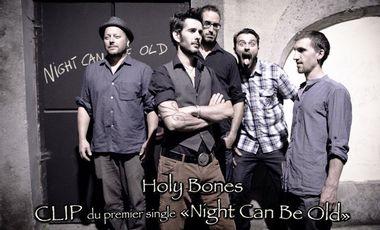 Visuel du projet Participez à la réalisation du premier clip d'Holy Bones