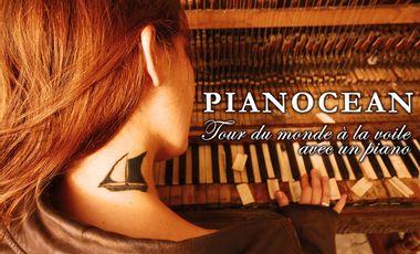 Project visual PIANOCEAN : Tour du monde à la voile avec un piano !
