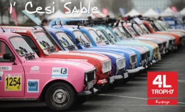 Project visual 4L Trophy 2015 - 1' Cesi Sable