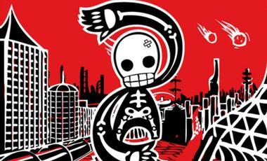 Visuel du projet Le Luchathon : Aide la Lucha Libre à sortir son deuxième album