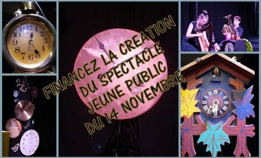 Visueel van project Financez le spectacle jeune public du 14 Novembre